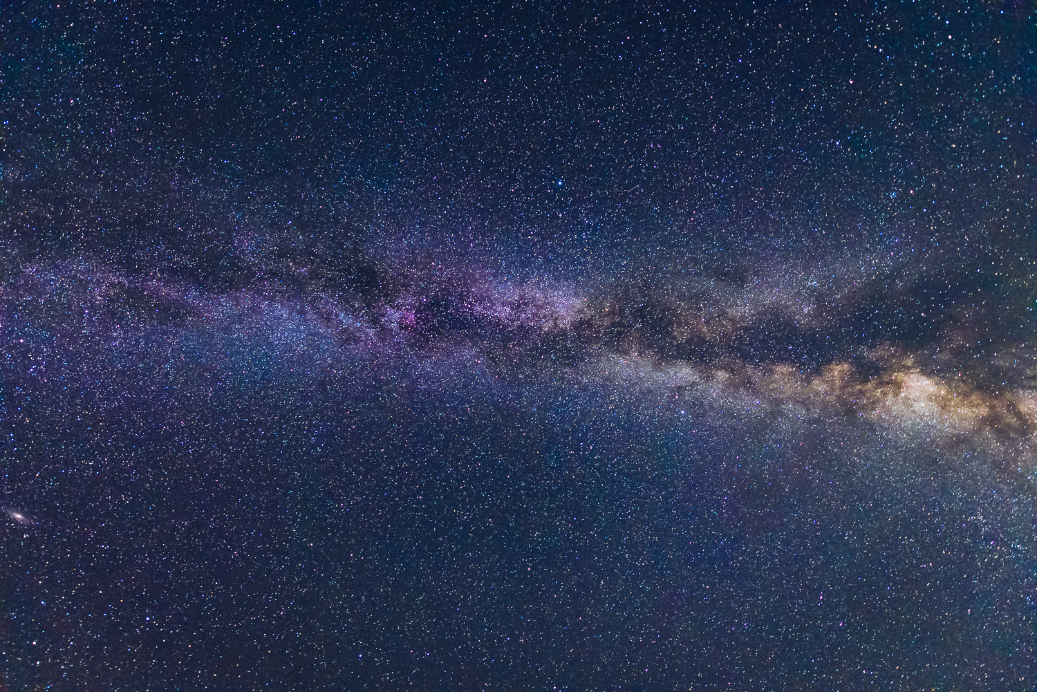 Milky Way Arching directly overhead