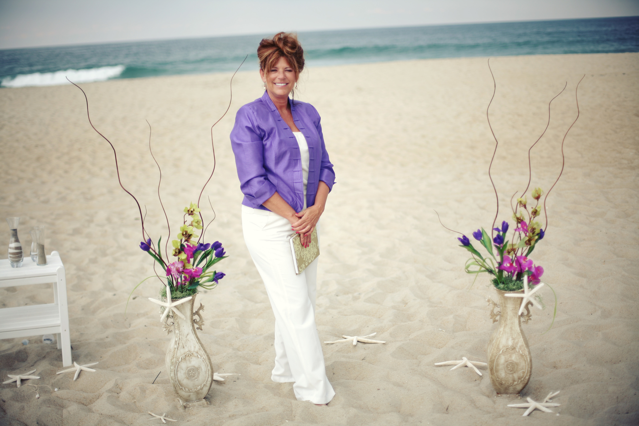 Rev. Shirley Anne, Outer Banks Minister, Carolina Wedding Company