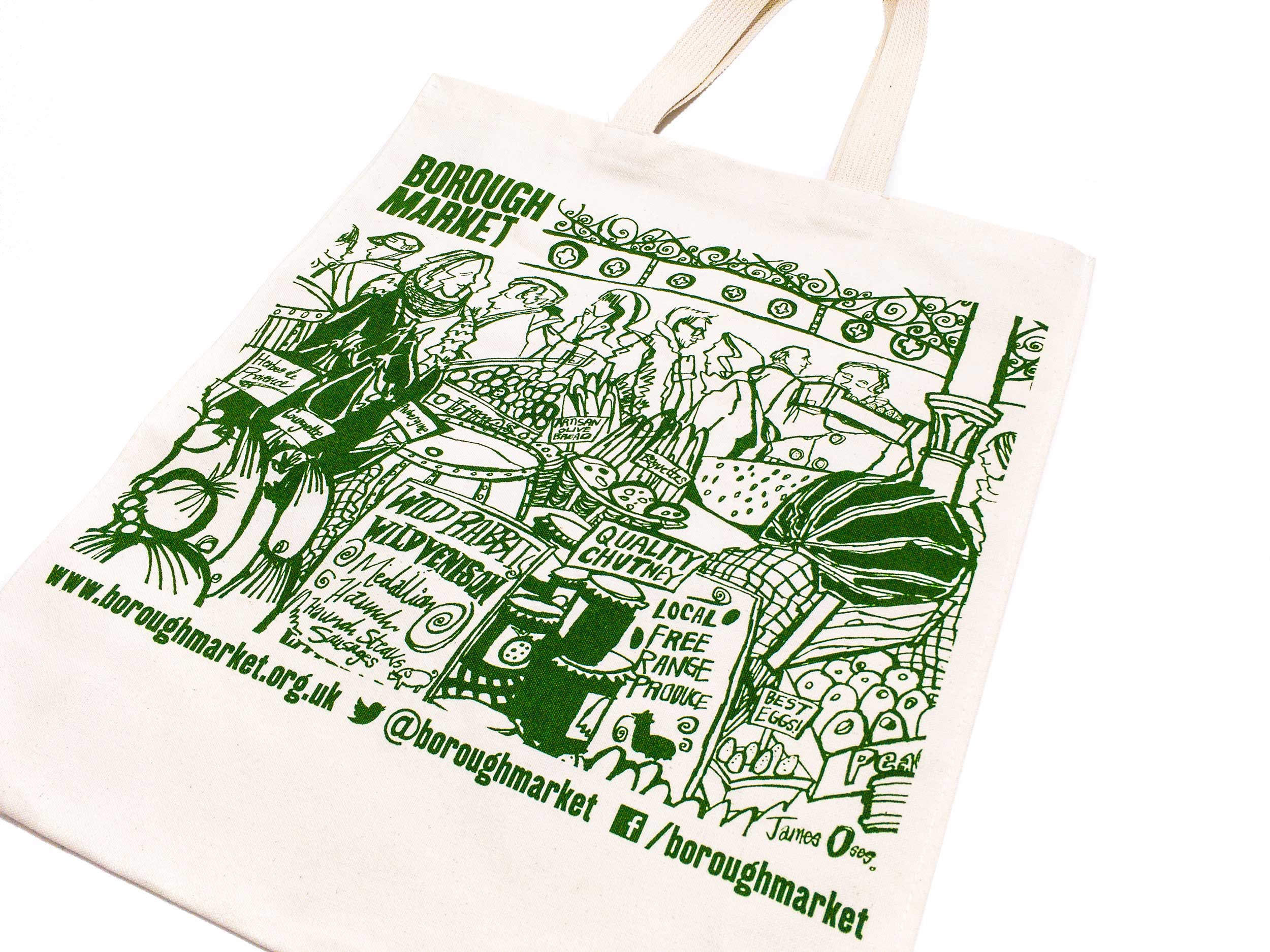 Borough Market merchandise by James Oses, image 3