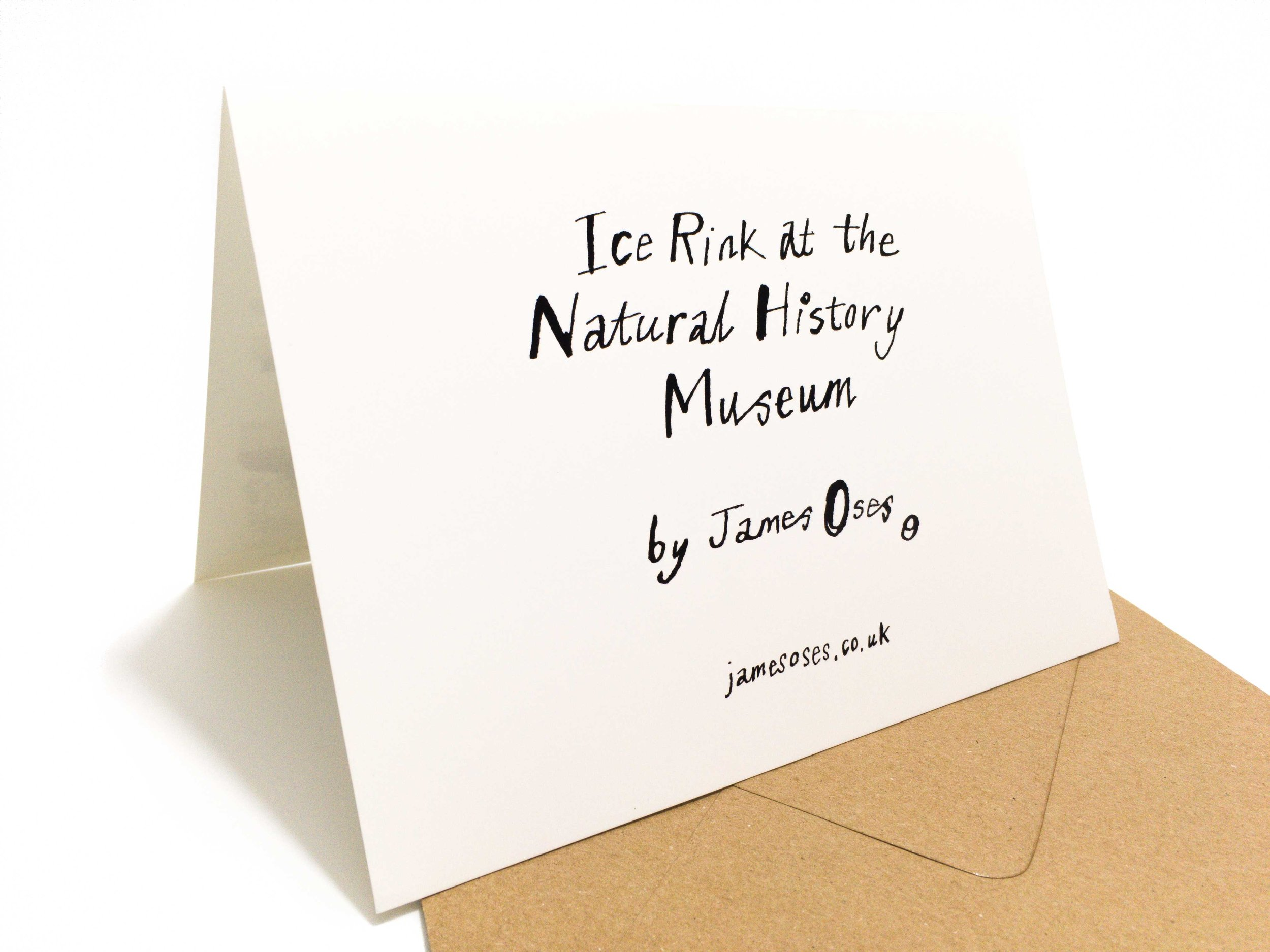 Natural History Museum card by James Oses, image 2