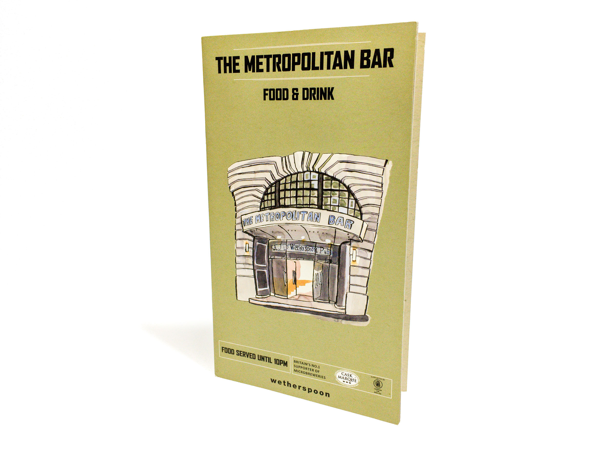 Wetherspoon menu illustrations by James Oses, image 5