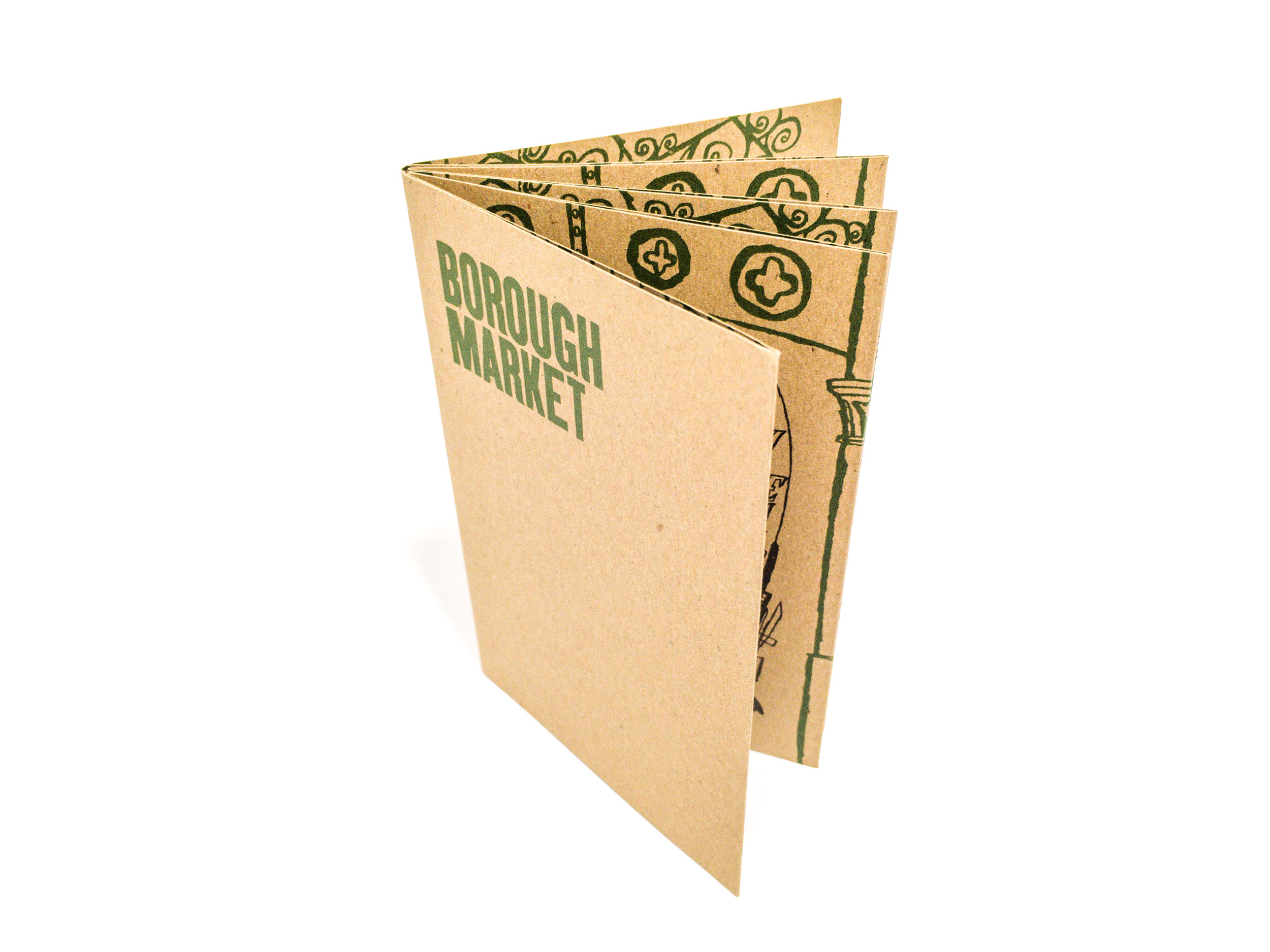 Illustrated Borough Market booklet by James Oses, image 1