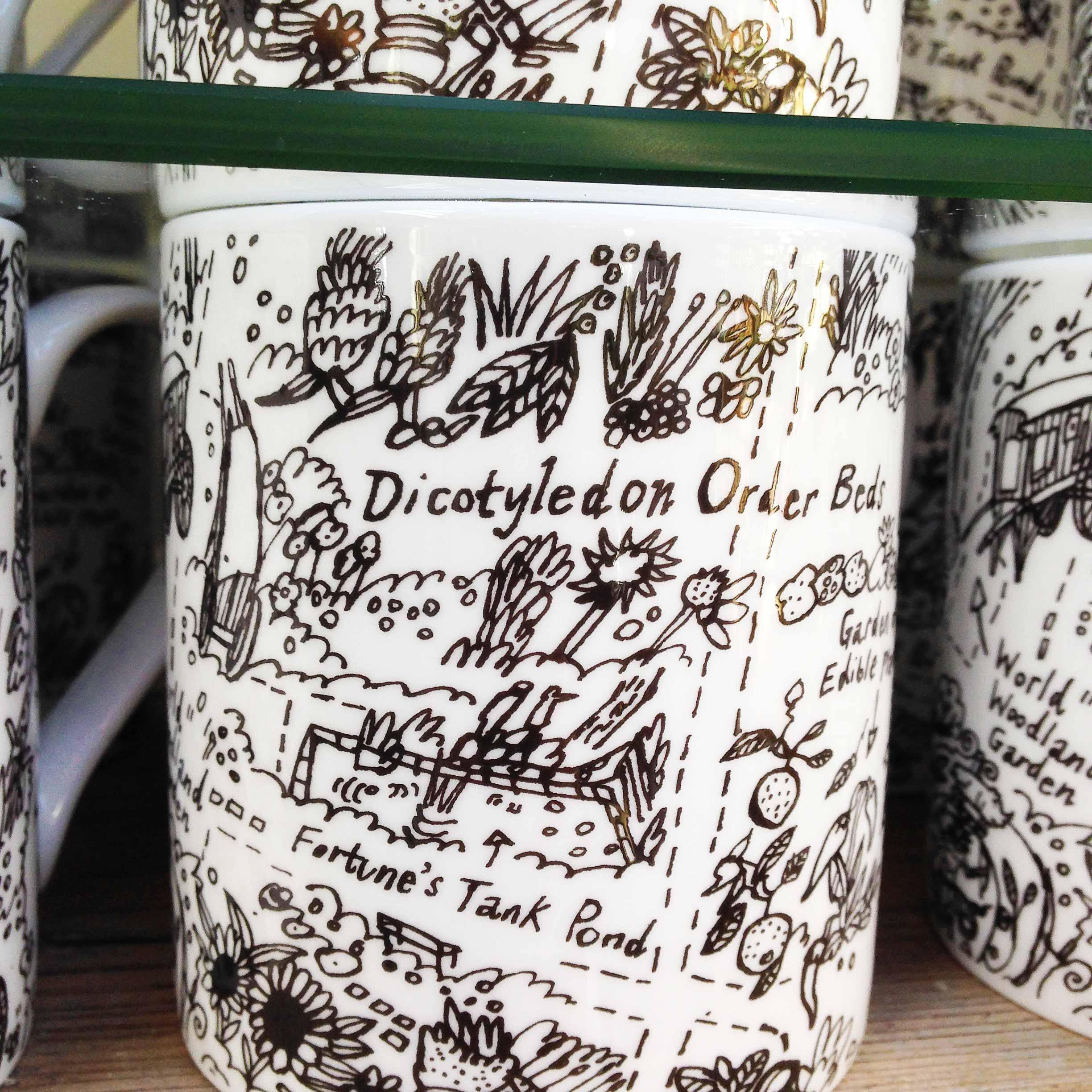 Chelsea Physic Garden mugs by James Oses, image 2