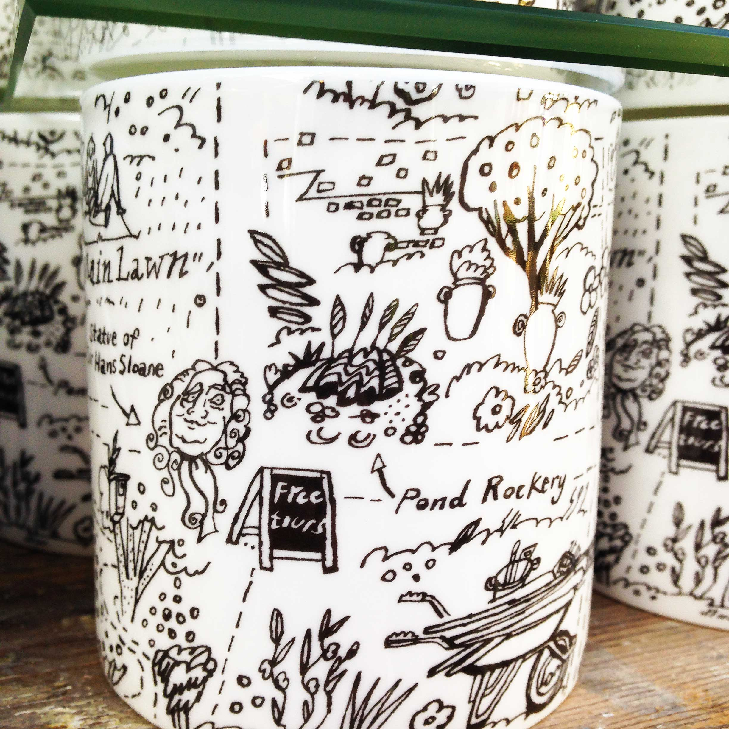 Chelsea Physic Garden mugs by James Oses, image 3