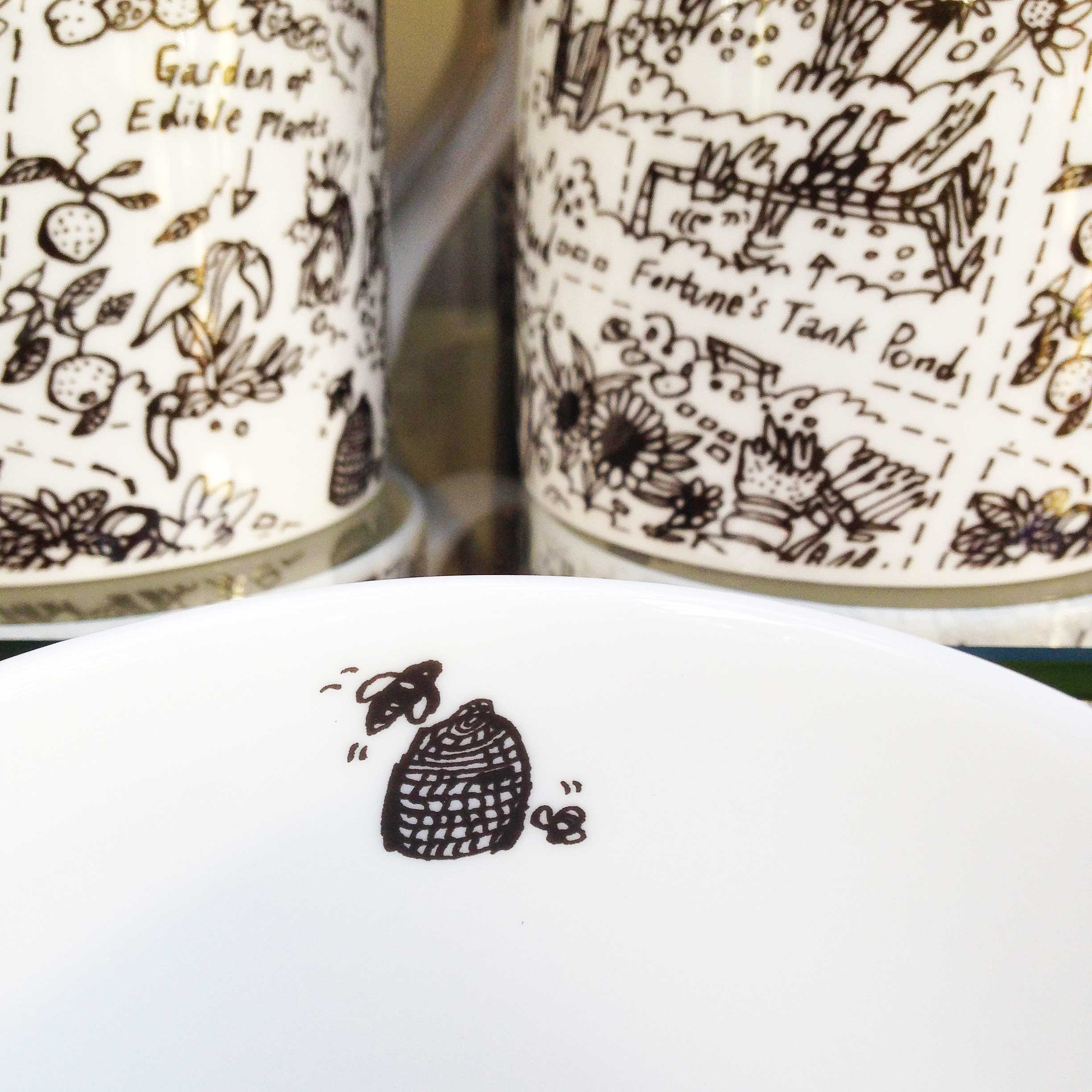 Chelsea Physic Garden mugs by James Oses, image 5
