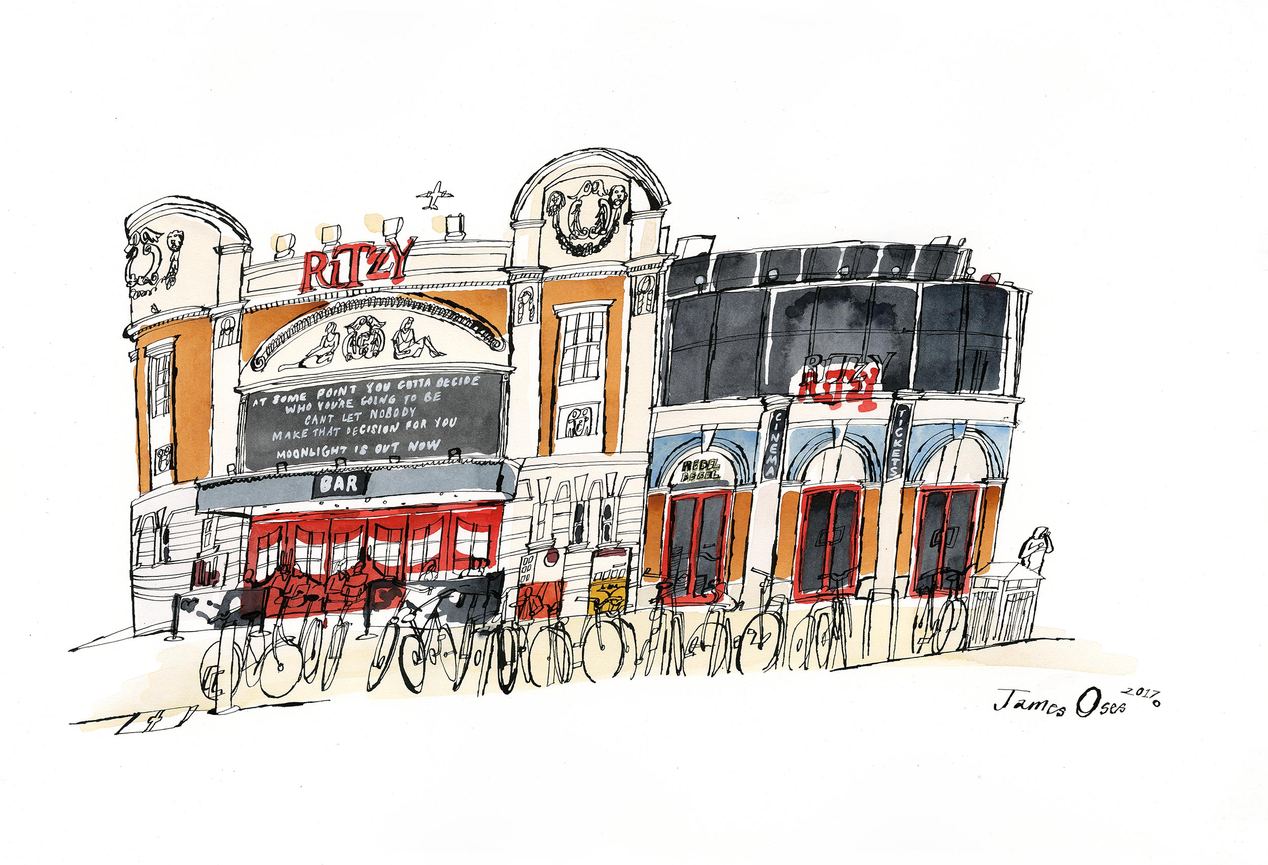 Ritzy Cinema by James Oses