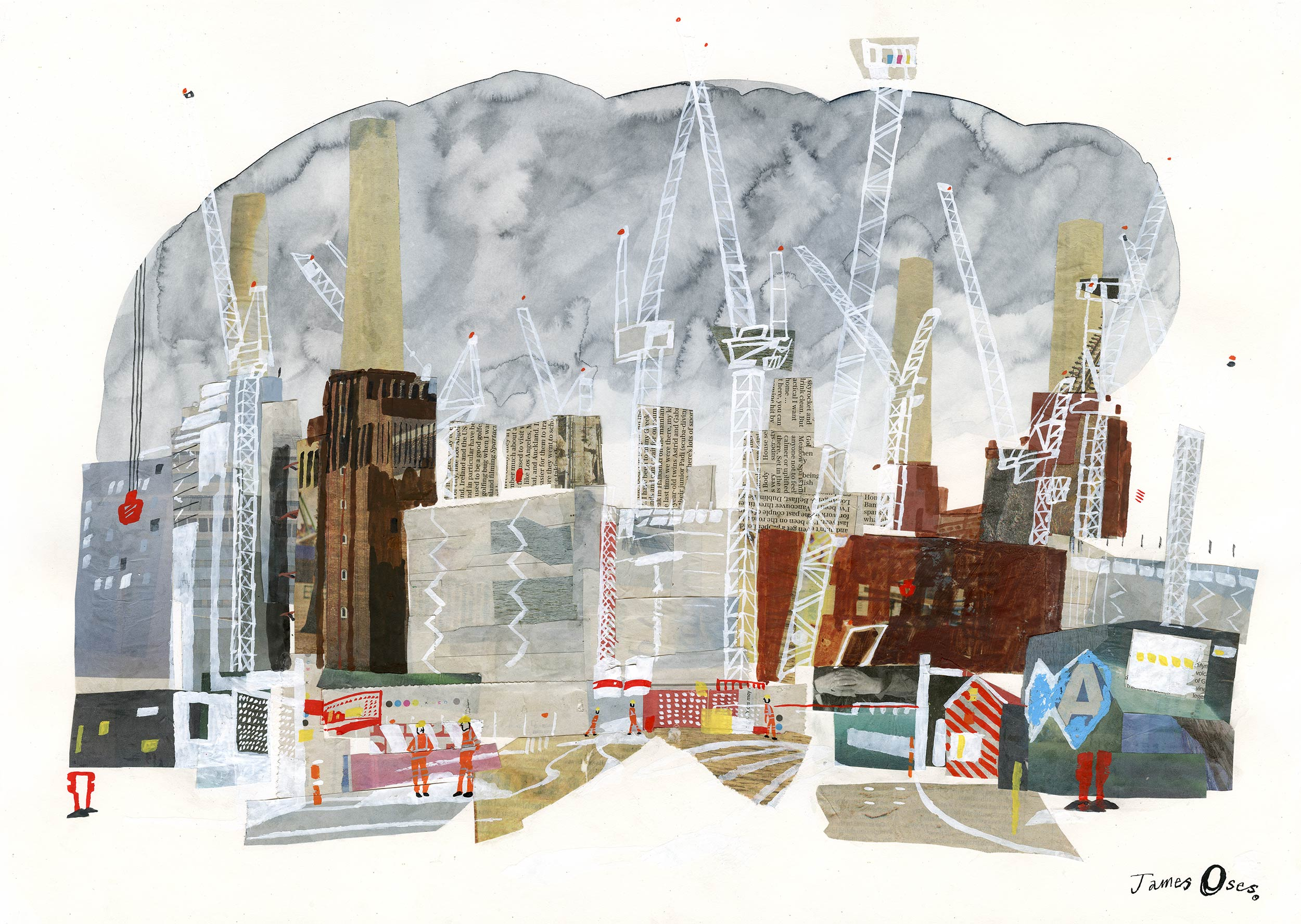 Battersea Power Station by James Oses, image 1