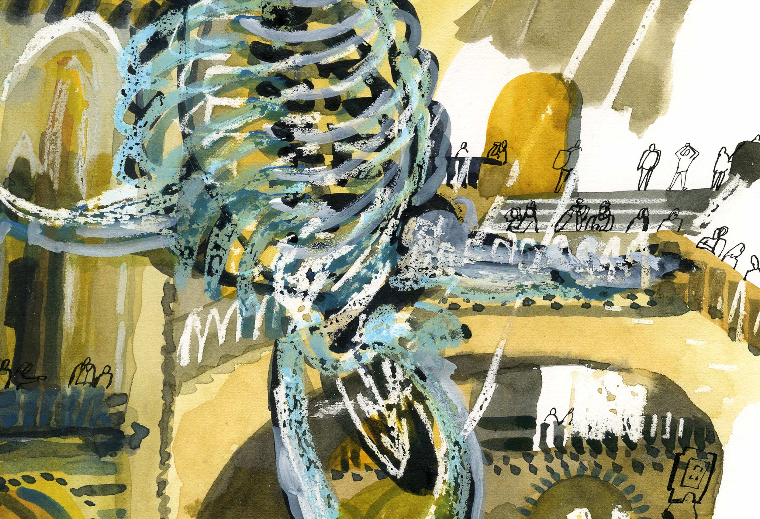 Blue whale, Natural History Museum by James Oses, image 2