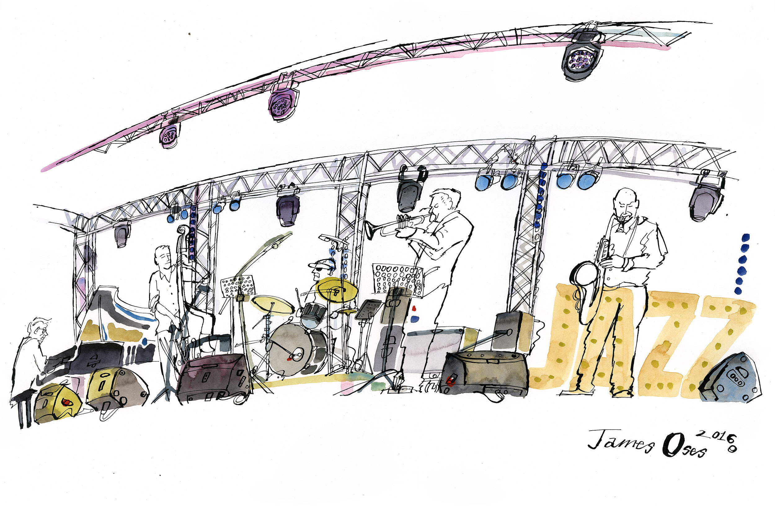 Ealing Jazz Festival by James Oses