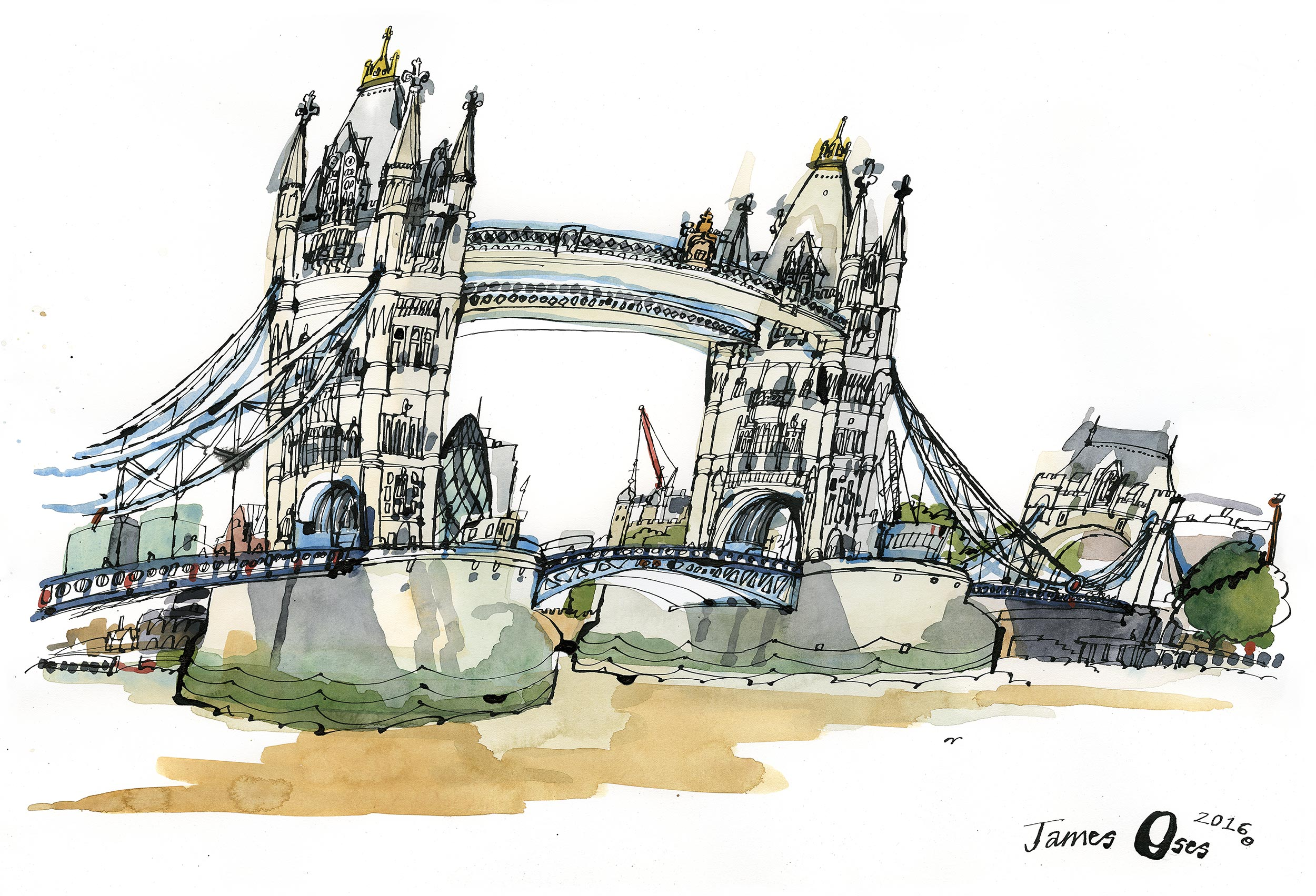 Tower Bridge by James Oses
