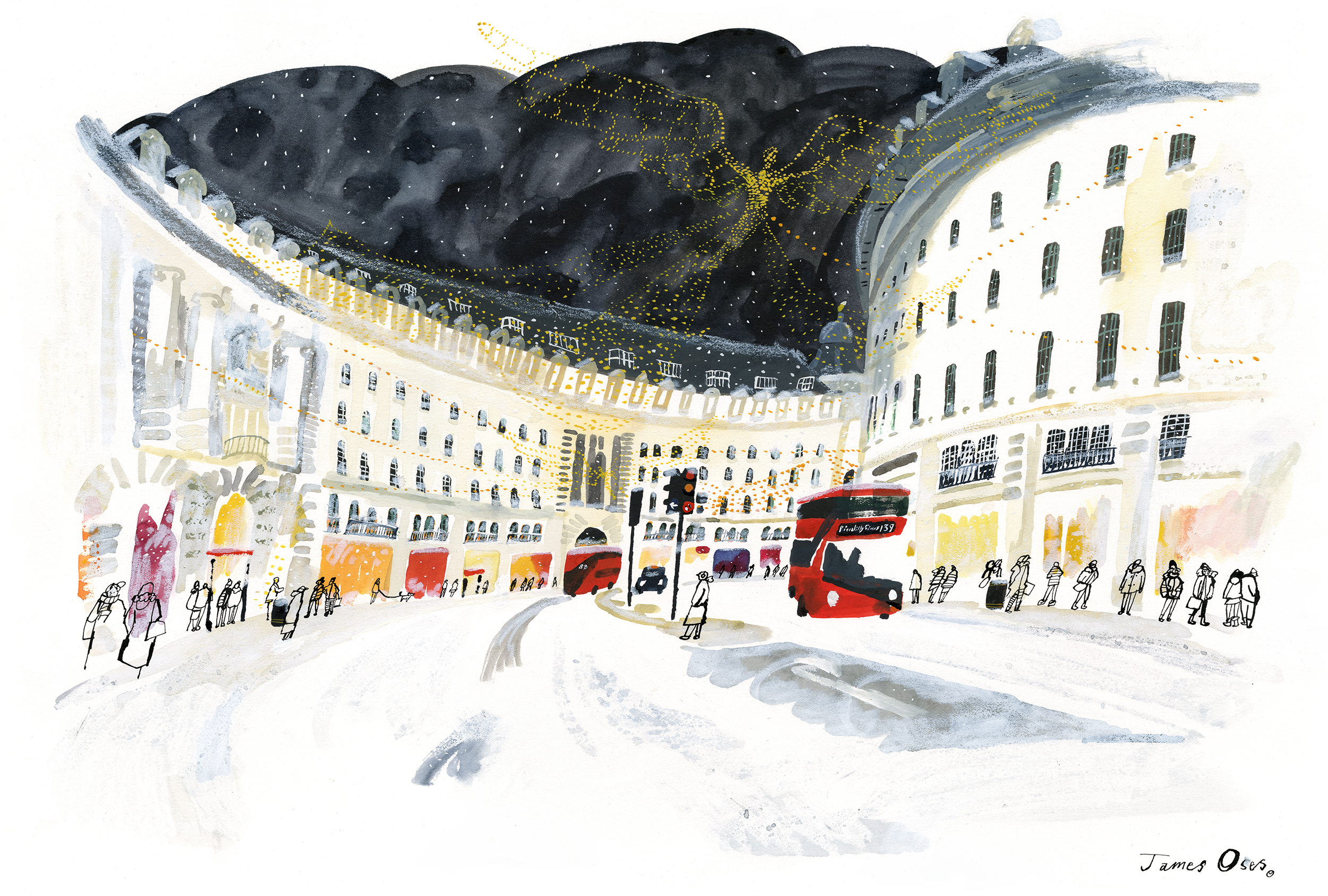 Regent Street by James Oses