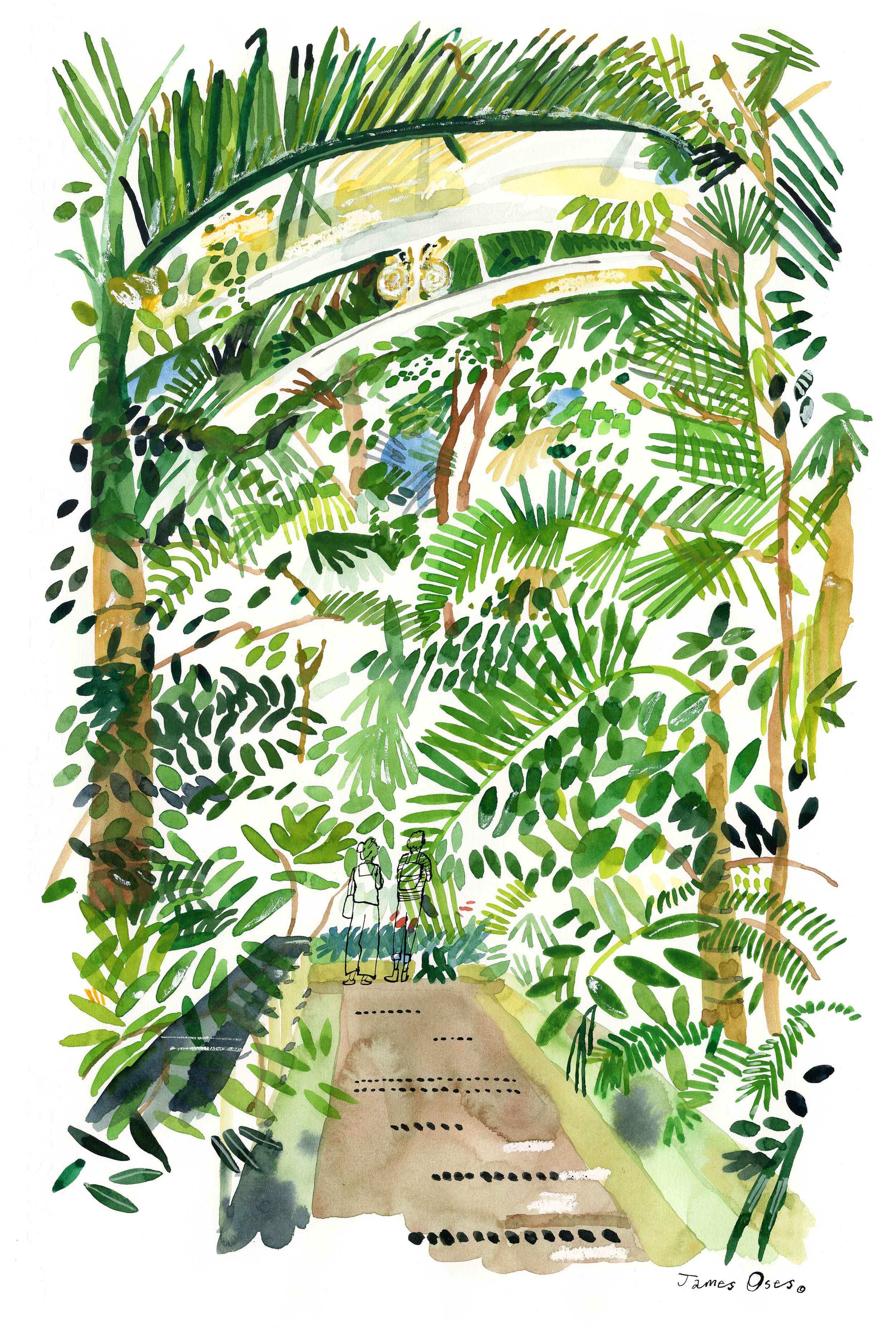Palm House, Kew Gardens by James Oses