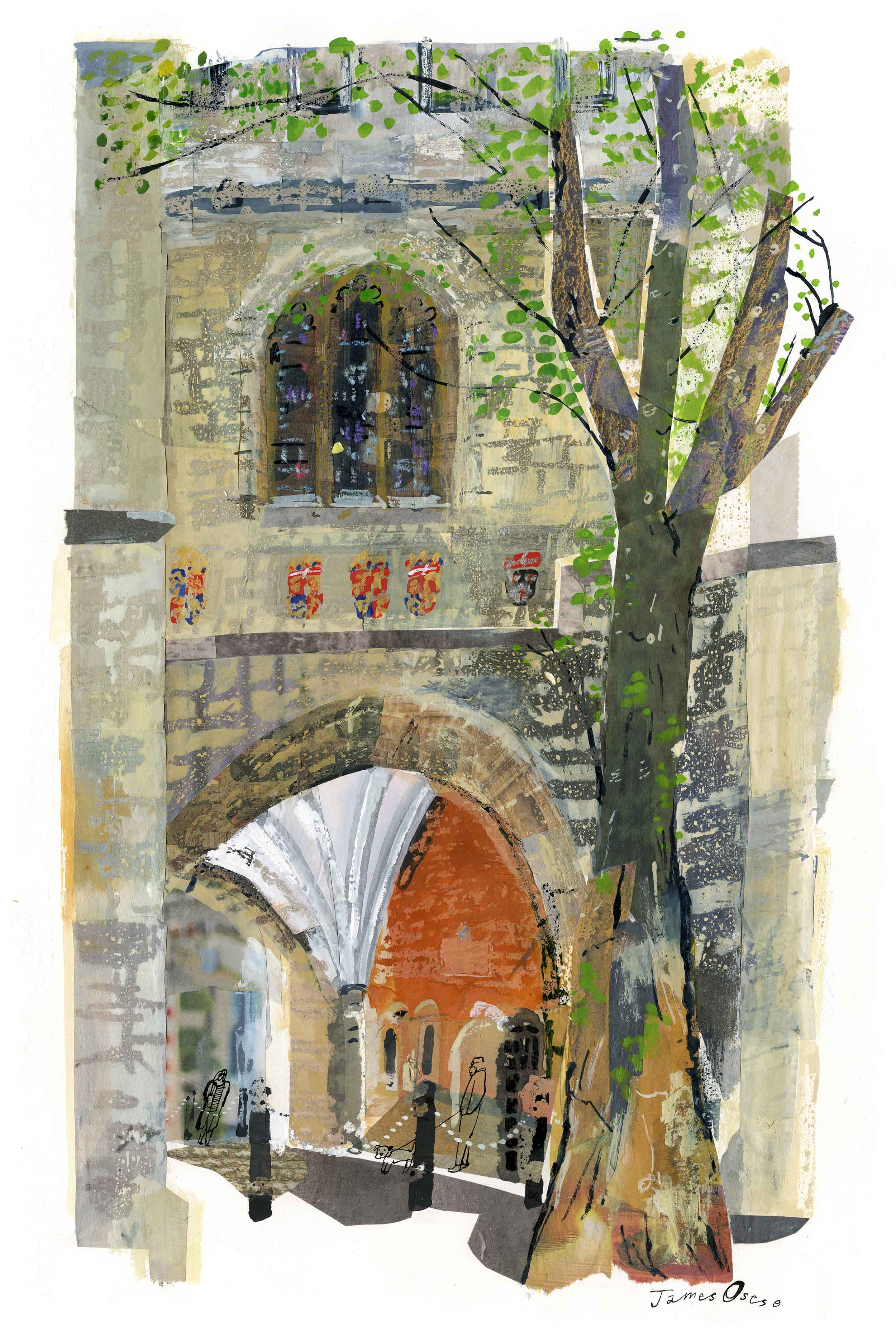 St John's Gate by James Oses