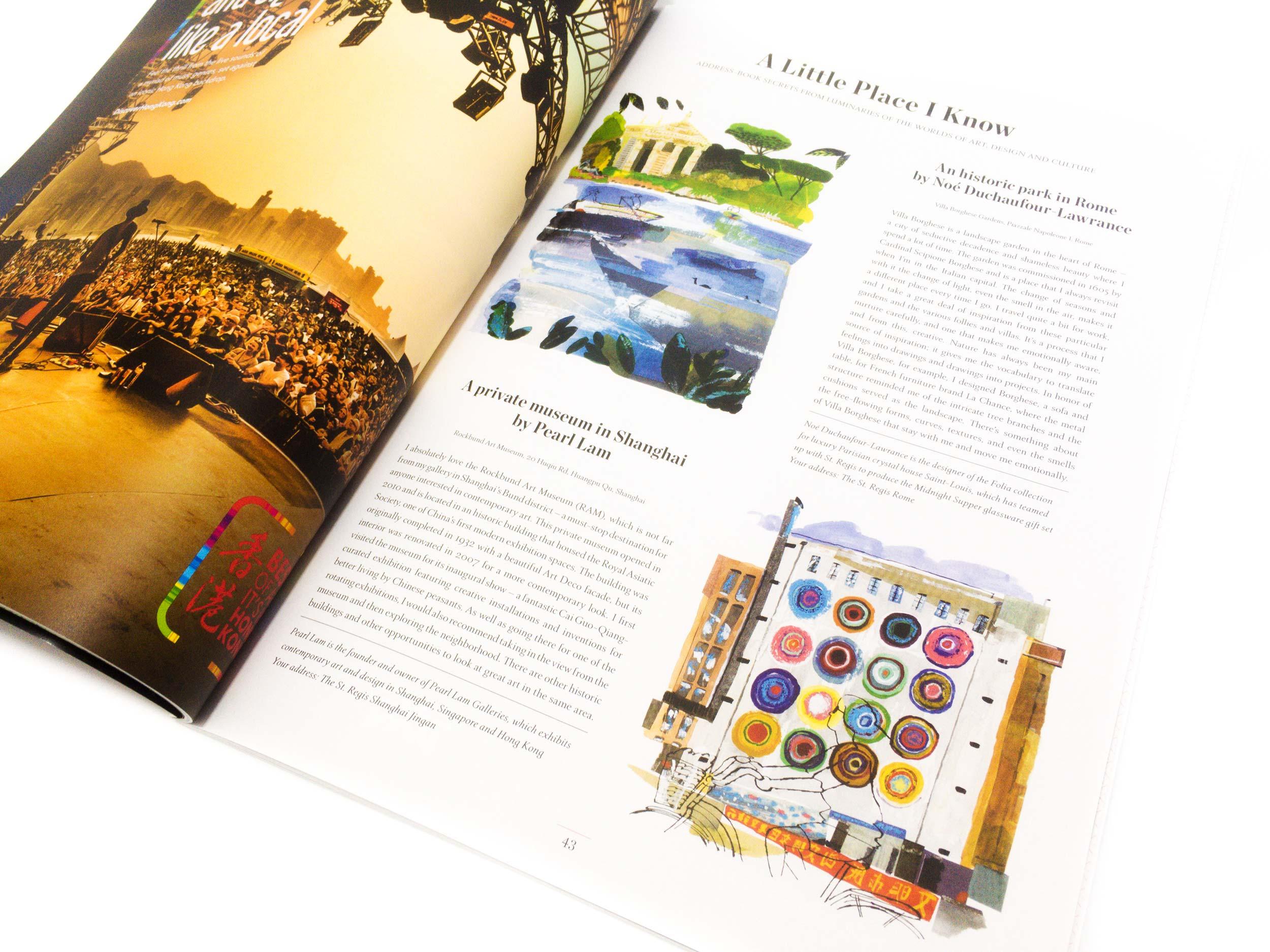 St Regis Beyond illustrations by James Oses, image 1