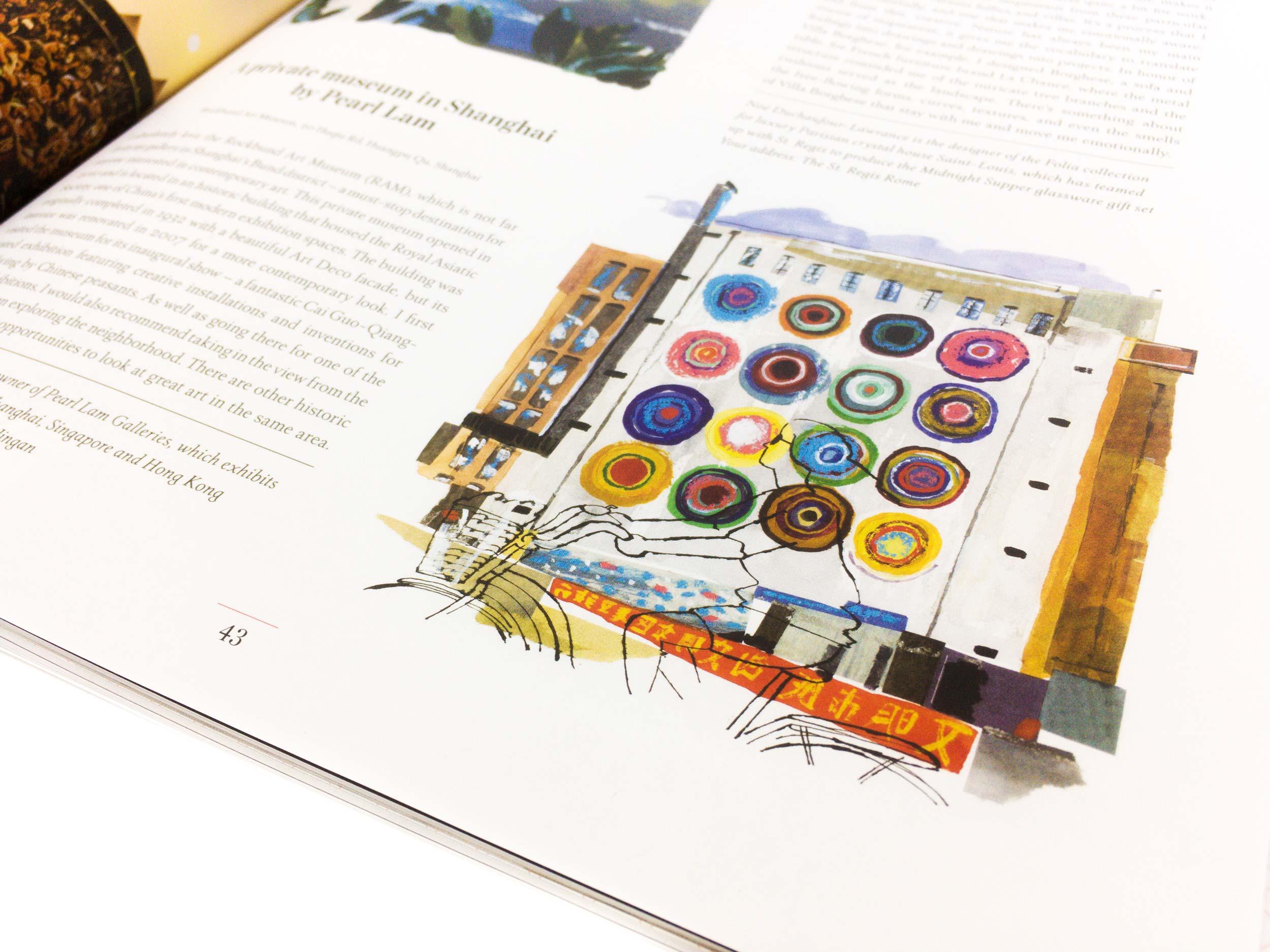 St Regis Beyond illustrations by James Oses, image 3