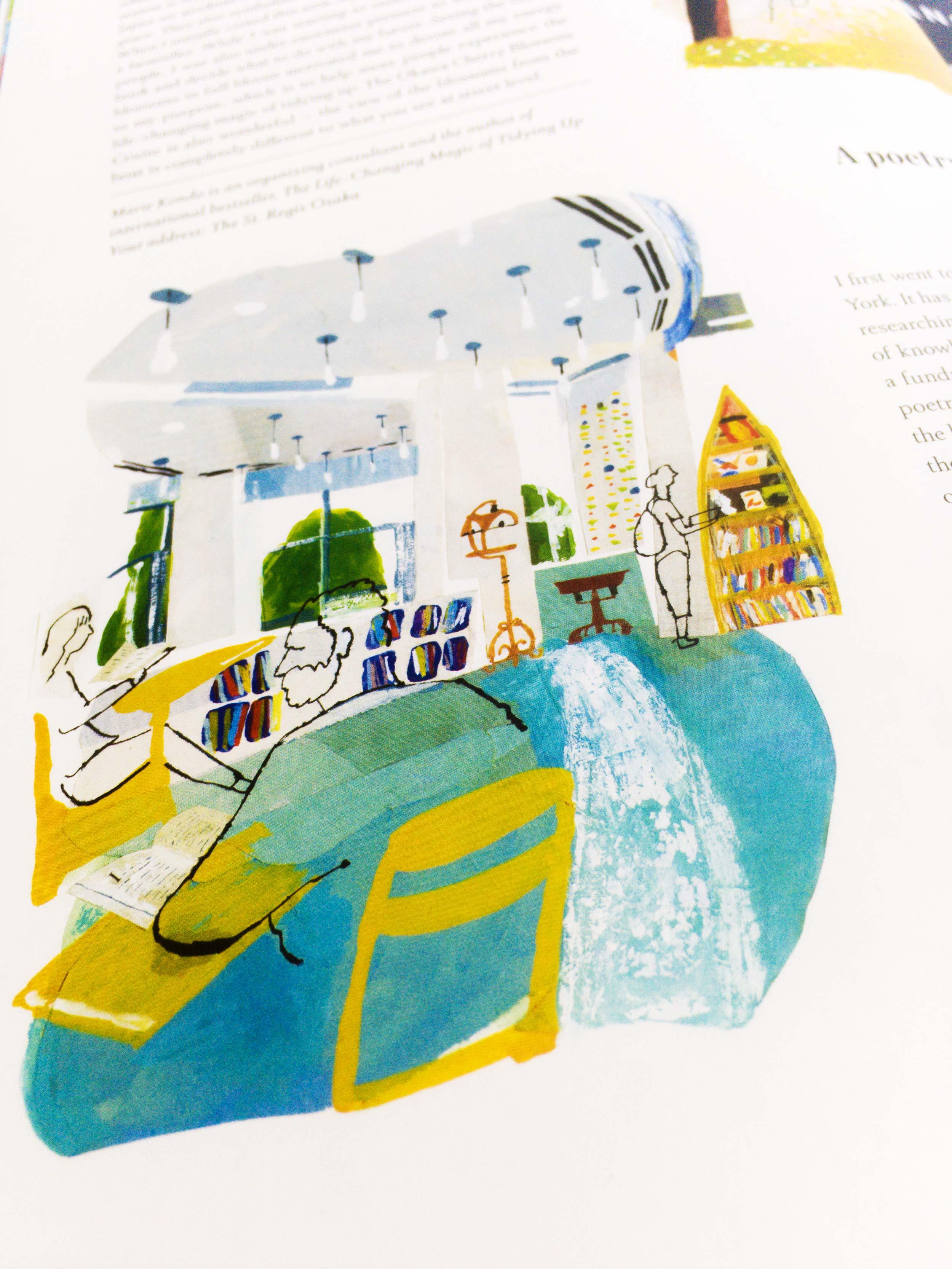 St Regis Beyond illustrations by James Oses, image 5