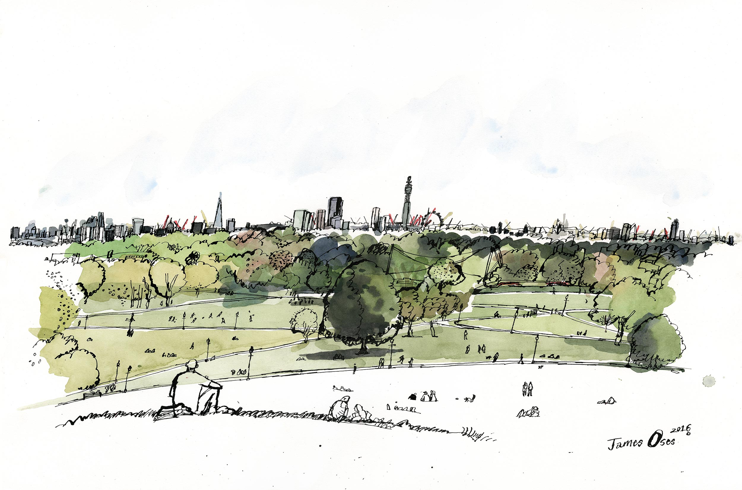 Primrose Hill by James Oses