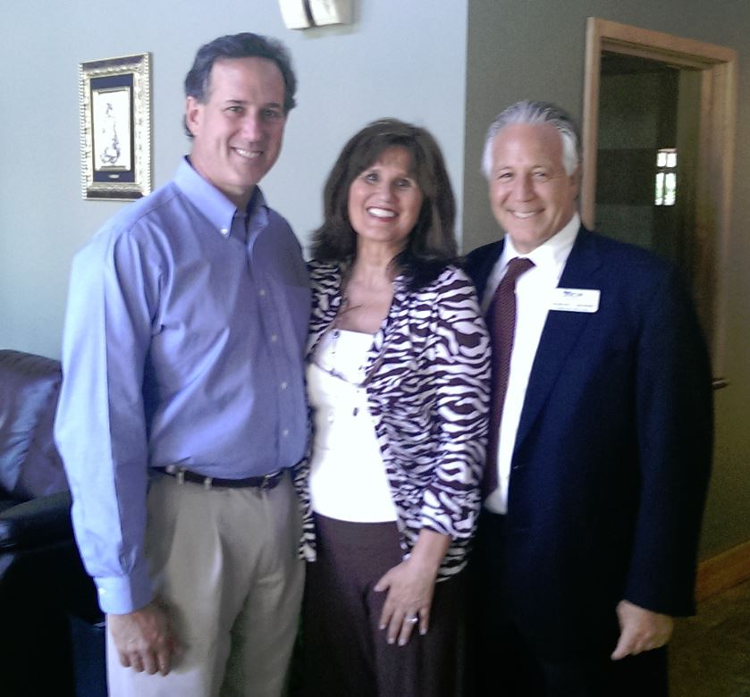 Rick Santorum, Chuck Limandri, Dran.JPG
