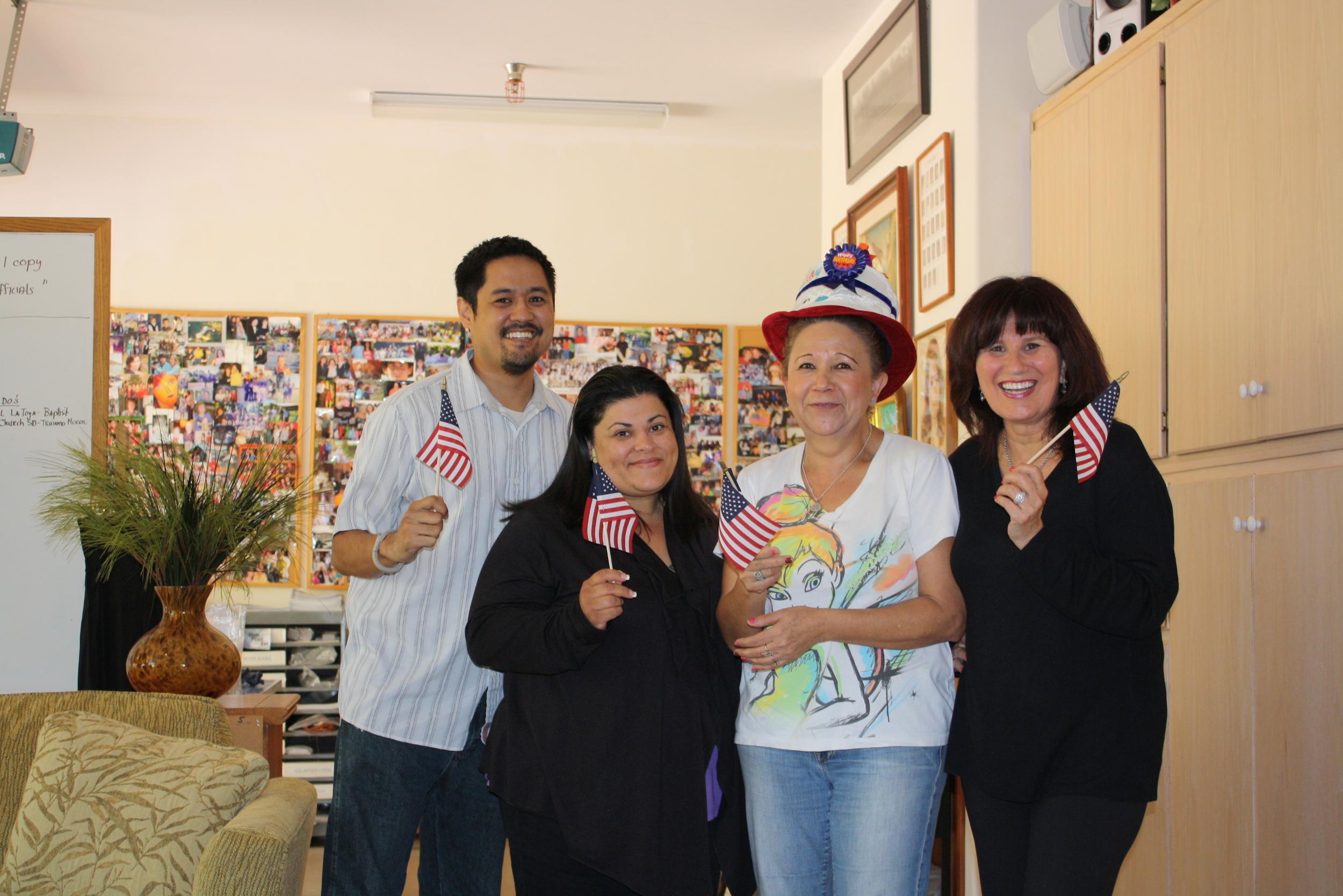 Maria, Rosita, Allan,Dran.JPG