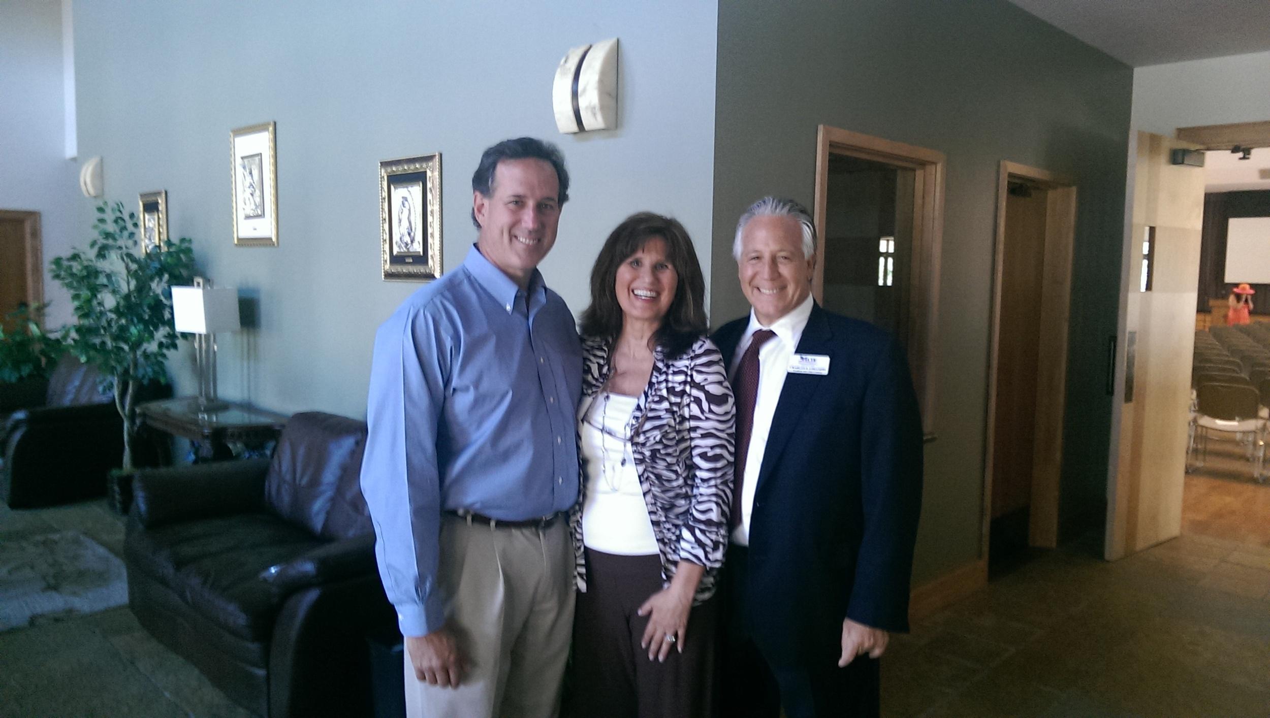 Rick Santorum and Chuck Limandri.jpg
