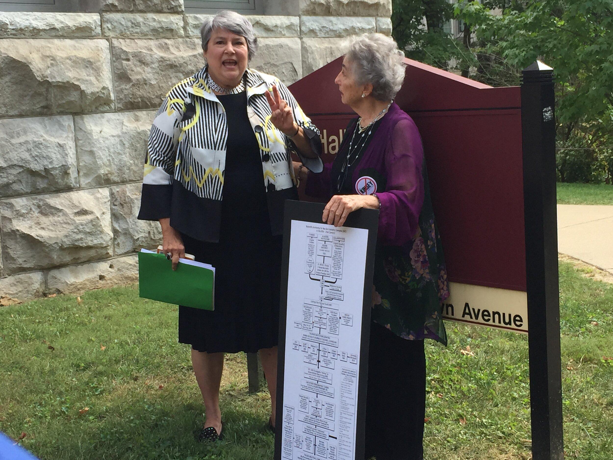Former IN Rep Cindy Noe & Dr. Judith Reisman