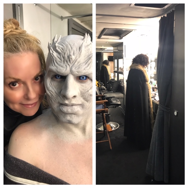 Jon Snow & a White Walker