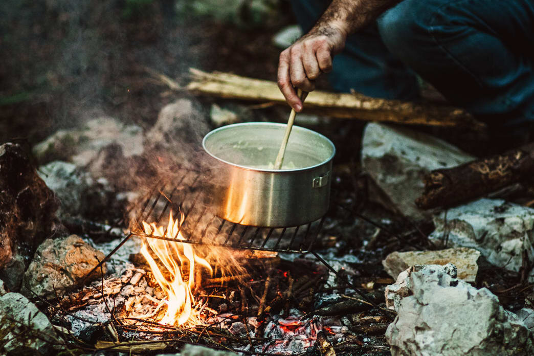 Everything tastes better outside—and even better cooked over a campfire. - Gary Sandoz