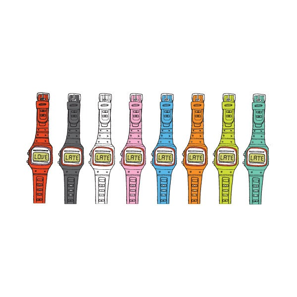 Maybe I should just go with Tattly's tattoo watches:http://tattly.com/products/watch-set.