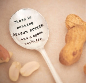 Don't worry about what that boy said, peanut butter, you will always be my favorite (also pizza, and brownies, and broccoli). [ Source ]