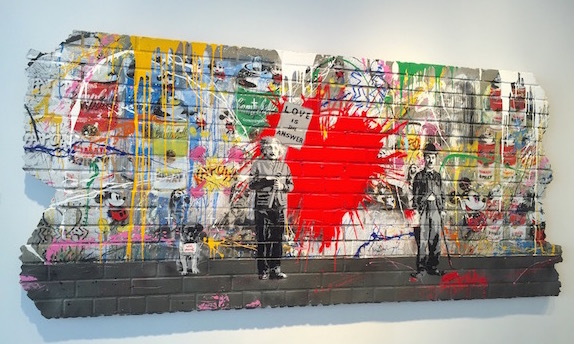 I know it's not for everyone but I think Mr. Brainwash is a genius.