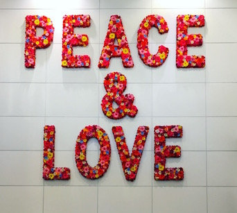 The wall at Miami International Airport. The irony.