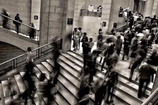 That rush life. via  Unsplash