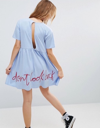 """I feel like this is going to be returned but in the meantime I'll just be here looking at it and breaking into Oasis' """"Don't Look Back in Anger."""" PC:  Asos"""