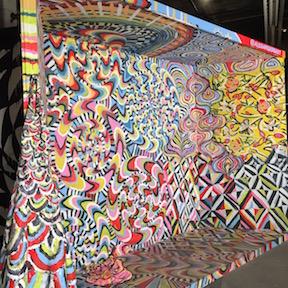 Alexa Meade installation