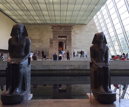 If all else fails, you can find me here. Nothing soothes me like Dendur.