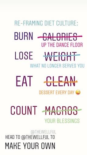 Reframing Diet Culture