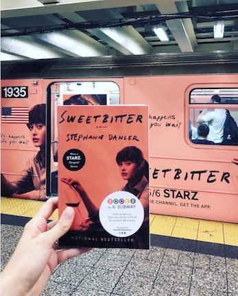 I thought about taking this photo so many times. Thank you  @booksonthesubway  for getting the shot.