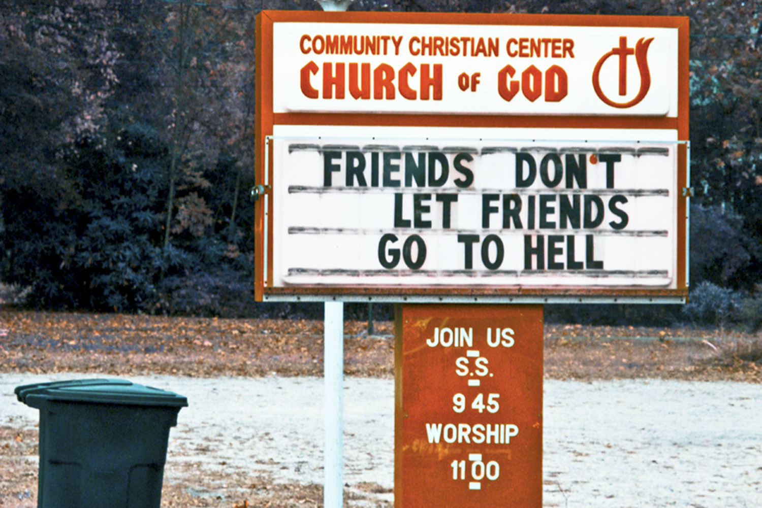 Friend's Don't Let Friends Go to Hell