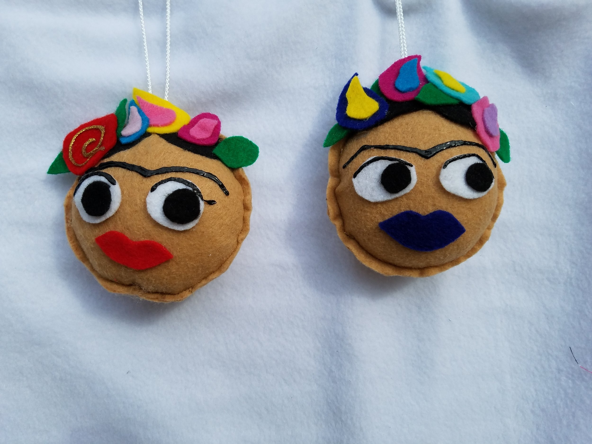 The cutest Frida Key Chains from Lovely Mrs Wheels