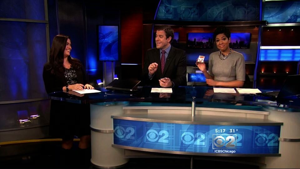 Iggy trading cards on CBS NewS !!