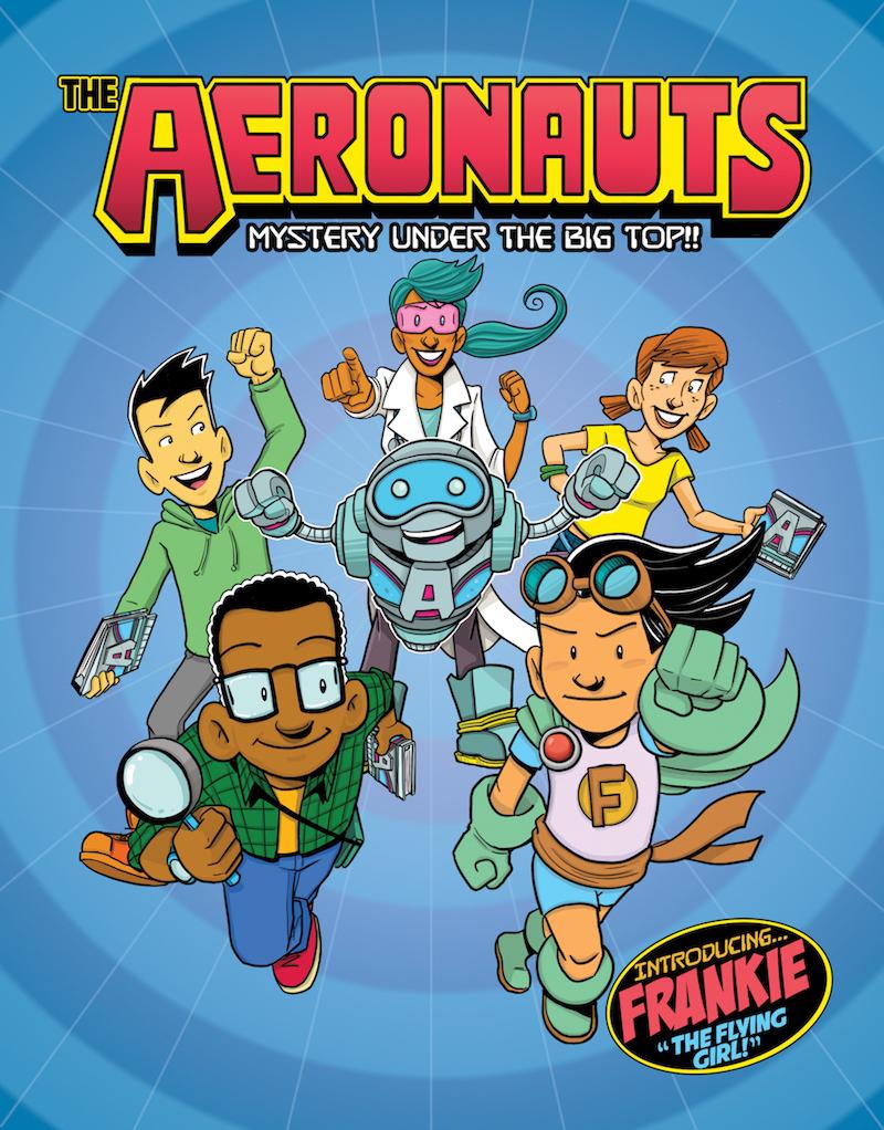 """the Aeronauts"" Comic book cover"