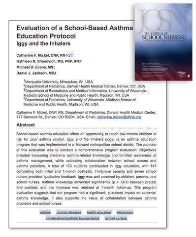 The Journal of school nursing
