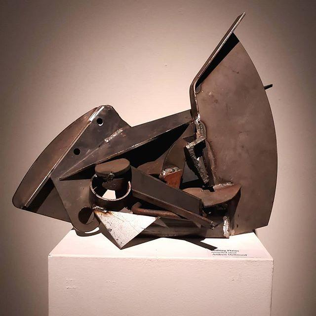 Shifting Plains, 2019 16.5 x 14 x 10 in  #recycledsteel #steelart #steelartist #weld #drops #discountsteel #mnartist #artshow #artcollector #artcollectorsofnewyork #hws #ualberta #abstractart #abstractsculpture