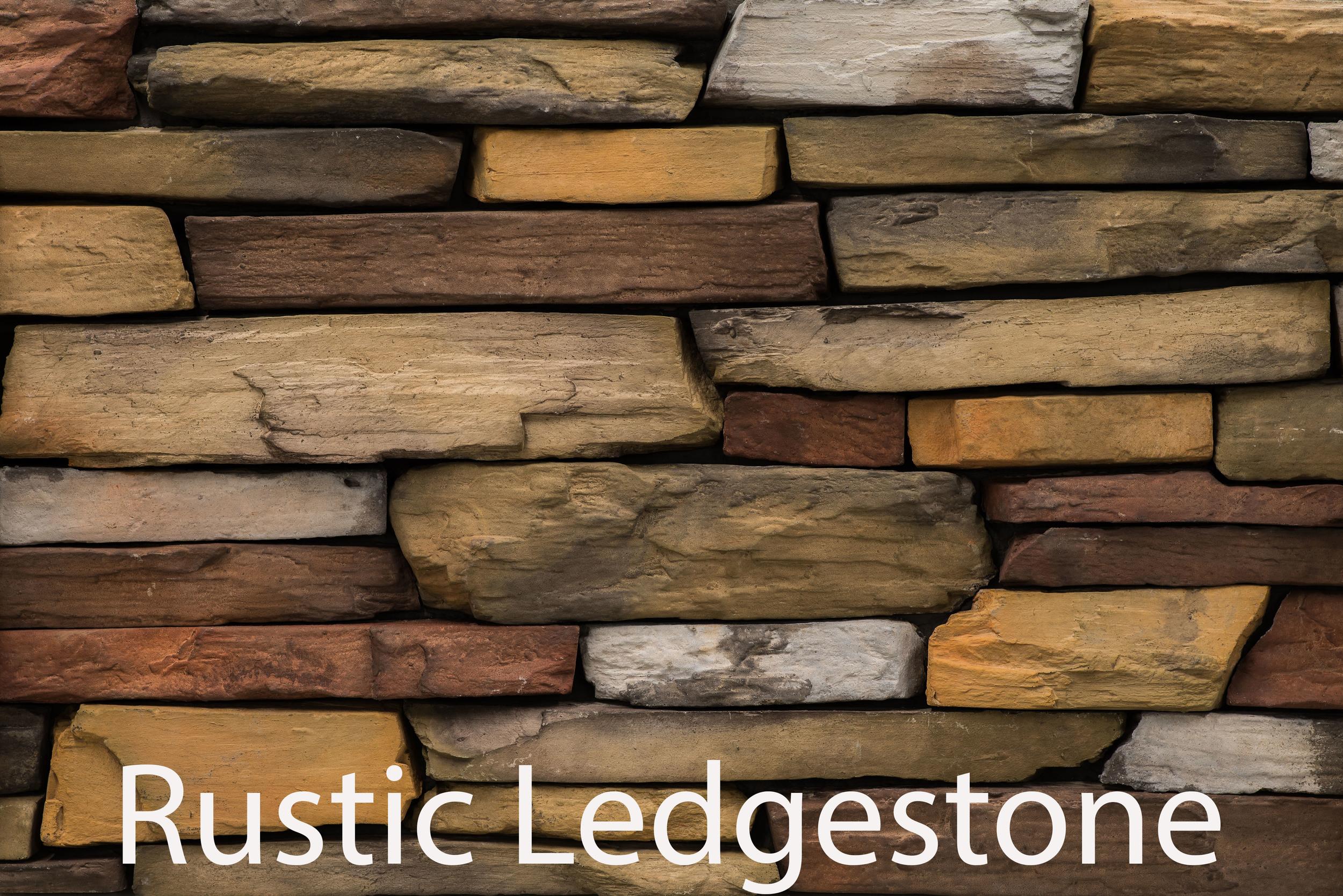 Rustic Ledgestone - Bonner County