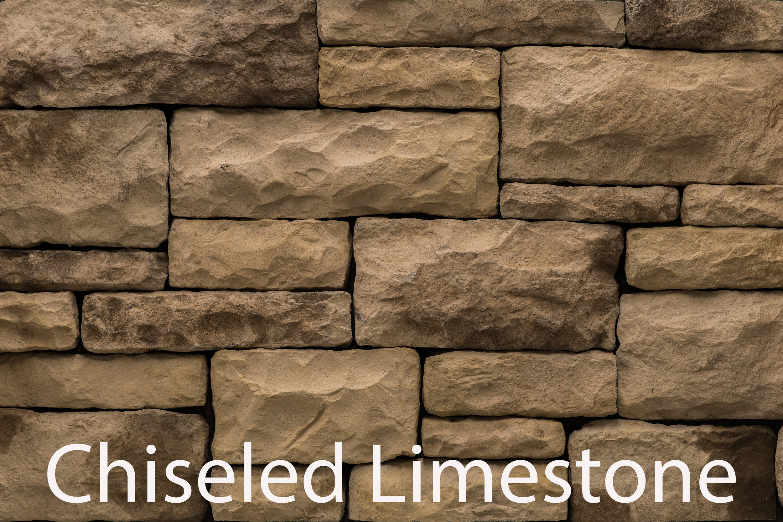 Chiseled Limestone - Sandstone