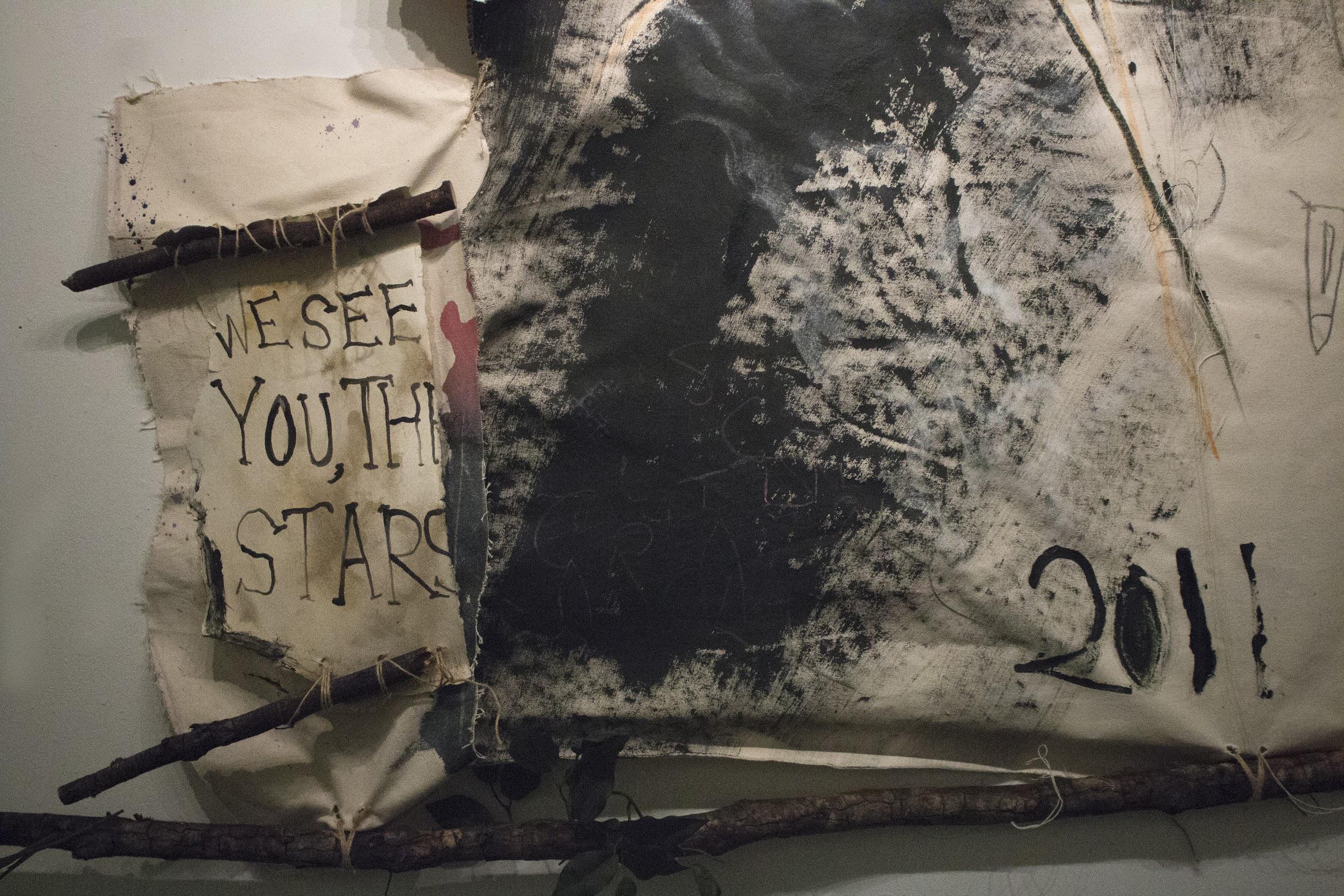 O Stars of Aleppo (detail)
