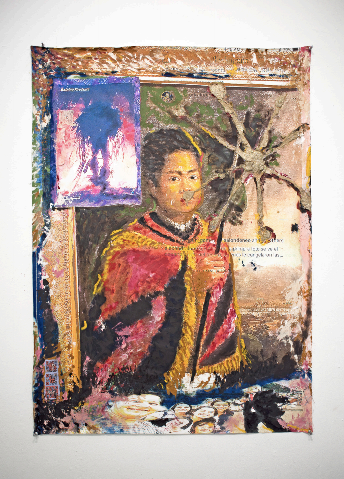 Untitled (Polynesian Boy With Spear)