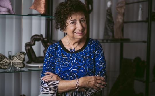 Gabriella Karin. Photo by David Miller. From Jewish Journal.