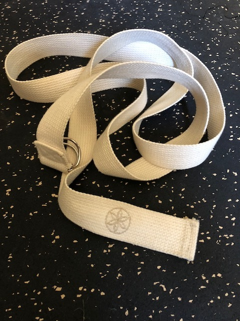 Yoga strap for mobility -