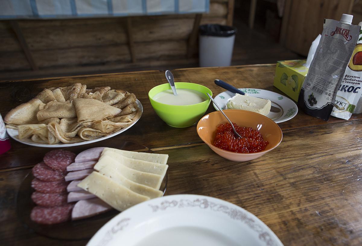 Frühstück mit Kavia